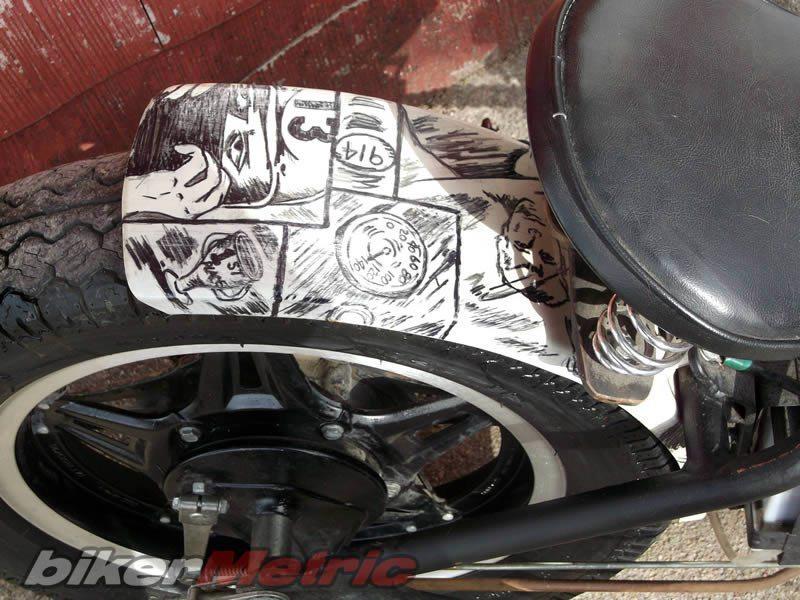 Honda CM400T Bobber