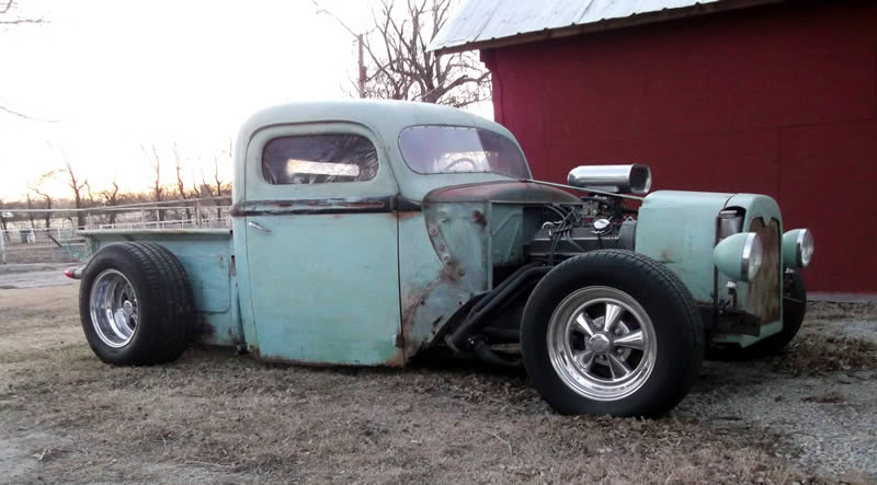 Rick's Custom Rat Rod