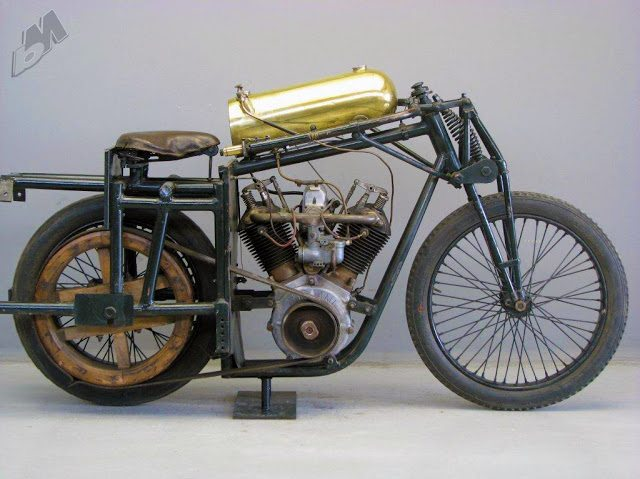Vintage Bike Of The Day 1925 2000cc Anzani V Twin Race