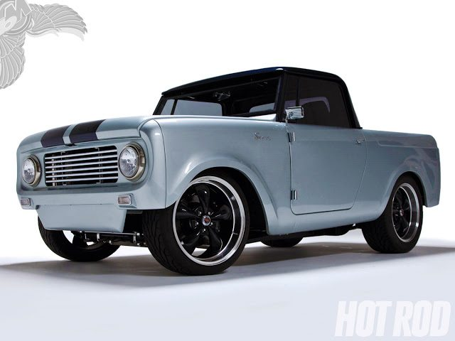 Honda Cb750 Cafe Racer >> 1962 international scout 80 hot rod - bikerMetric