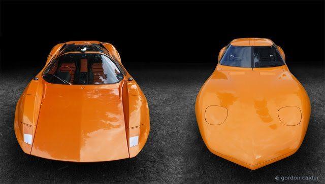 Adams Auto Parts >> rare orange 1960's british sports cars - bikerMetric