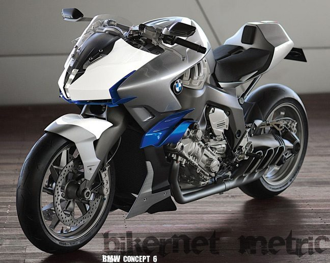 the concept 6 bmw 1600cc inline six motorcycle bikermetric. Black Bedroom Furniture Sets. Home Design Ideas