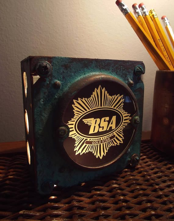 BSA Motorcycle Night Light
