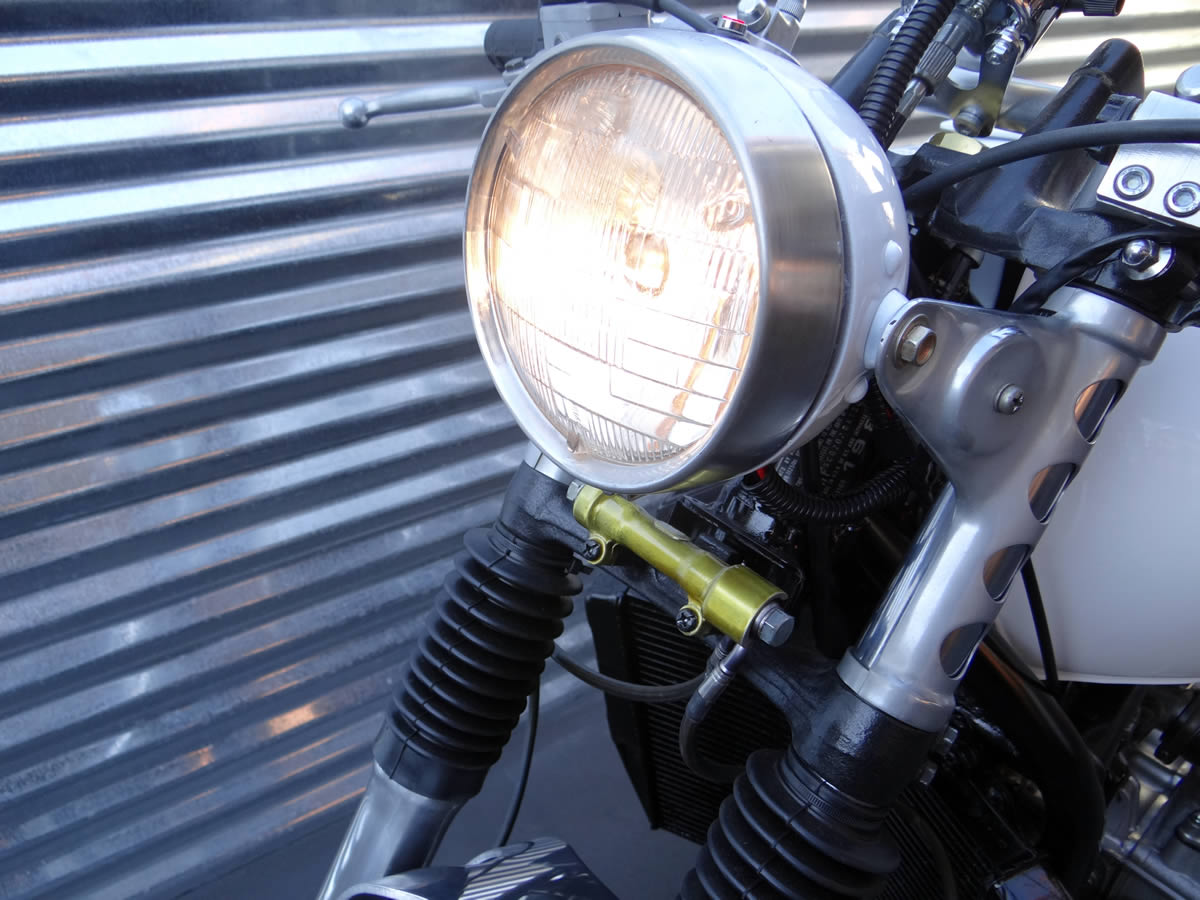 Custom Honda Goldwing Cafe Headlight