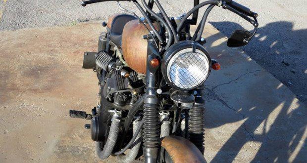 Honda CB750K Bobber Headlight