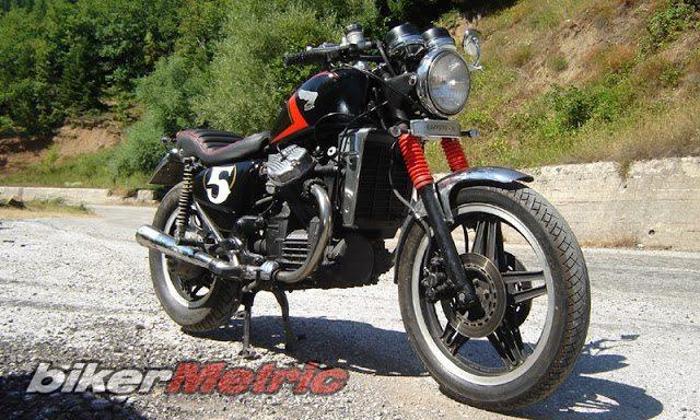 honda cx400 caf fighter by elias bikermetric. Black Bedroom Furniture Sets. Home Design Ideas