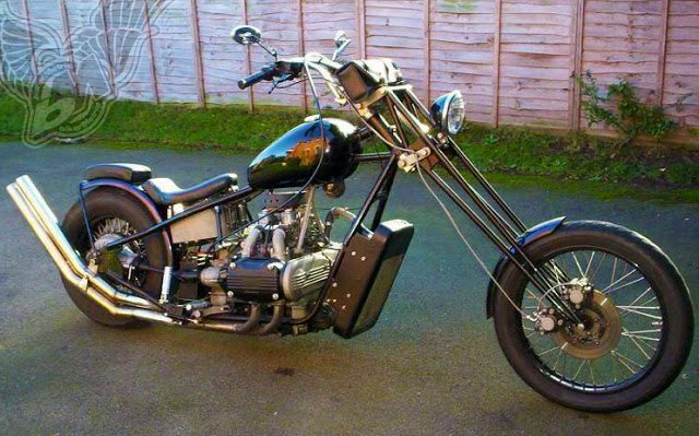 Custom Honda Gold Wing Bobbers Choppers And Cafe Racers