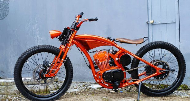 honda cb100 chopper | dariztdesign