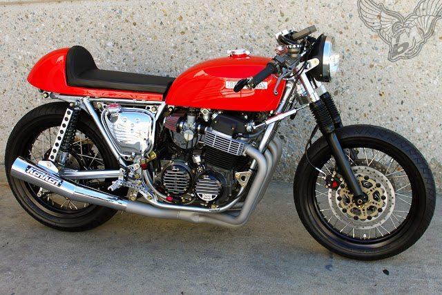 honda cb650 cafe racer   ugly motor bikes - bikermetric
