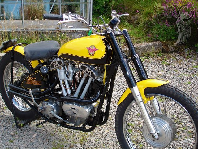 Vintage Bike Of The Day The Matchless Trackmaster Mx2