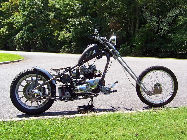 Reader Rides Don Snow S Triumph Chopper And Cz Type 477