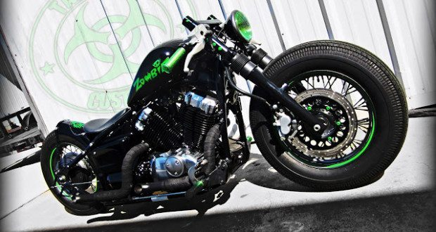 2005 yamaha v-star 650 bobber | tail end customs