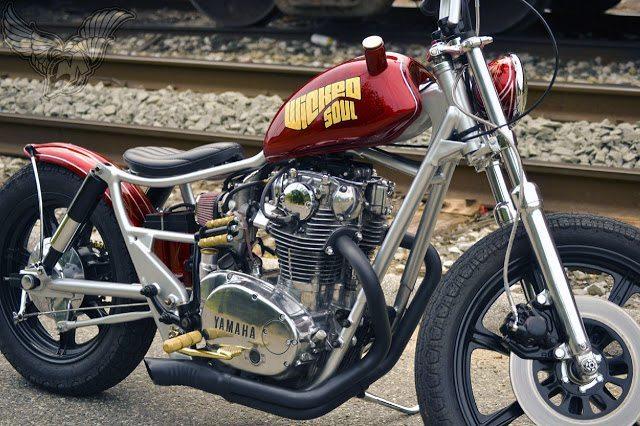 Yamaha Xs650 Brat Bobber