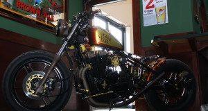 Honda CB650 Nighthawk Bobber