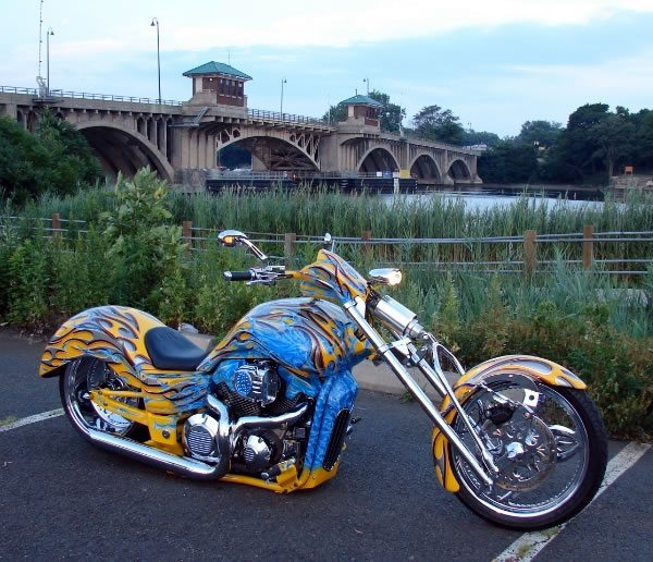 honda vtx1300r chopper | lone wolf custom cycles - bikermetric