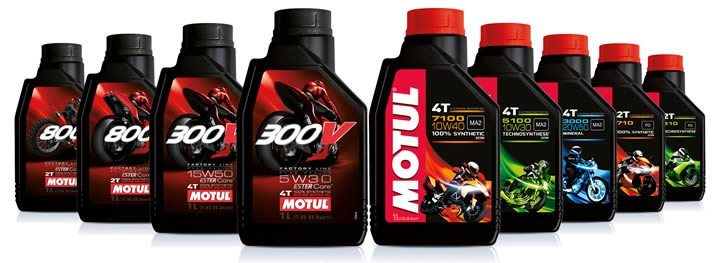 Motul Motorcycle Oil