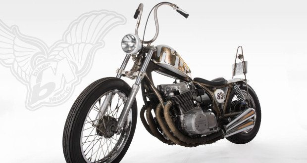 honda cb750 bobber by tin can customs