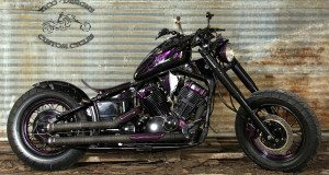 Purple Death Yamaha V-Star 650 by Tico Designs