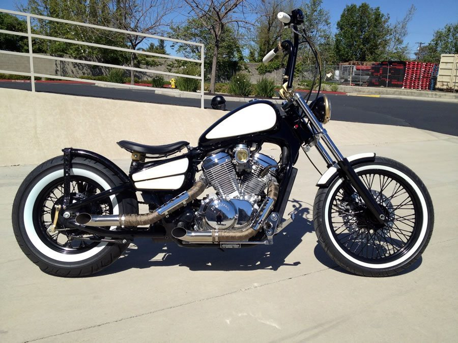 honda shadow 600 bobber by cerna custom motorcycles