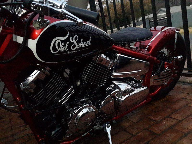 Yamaha V Star 650 Bobber Bikermetric