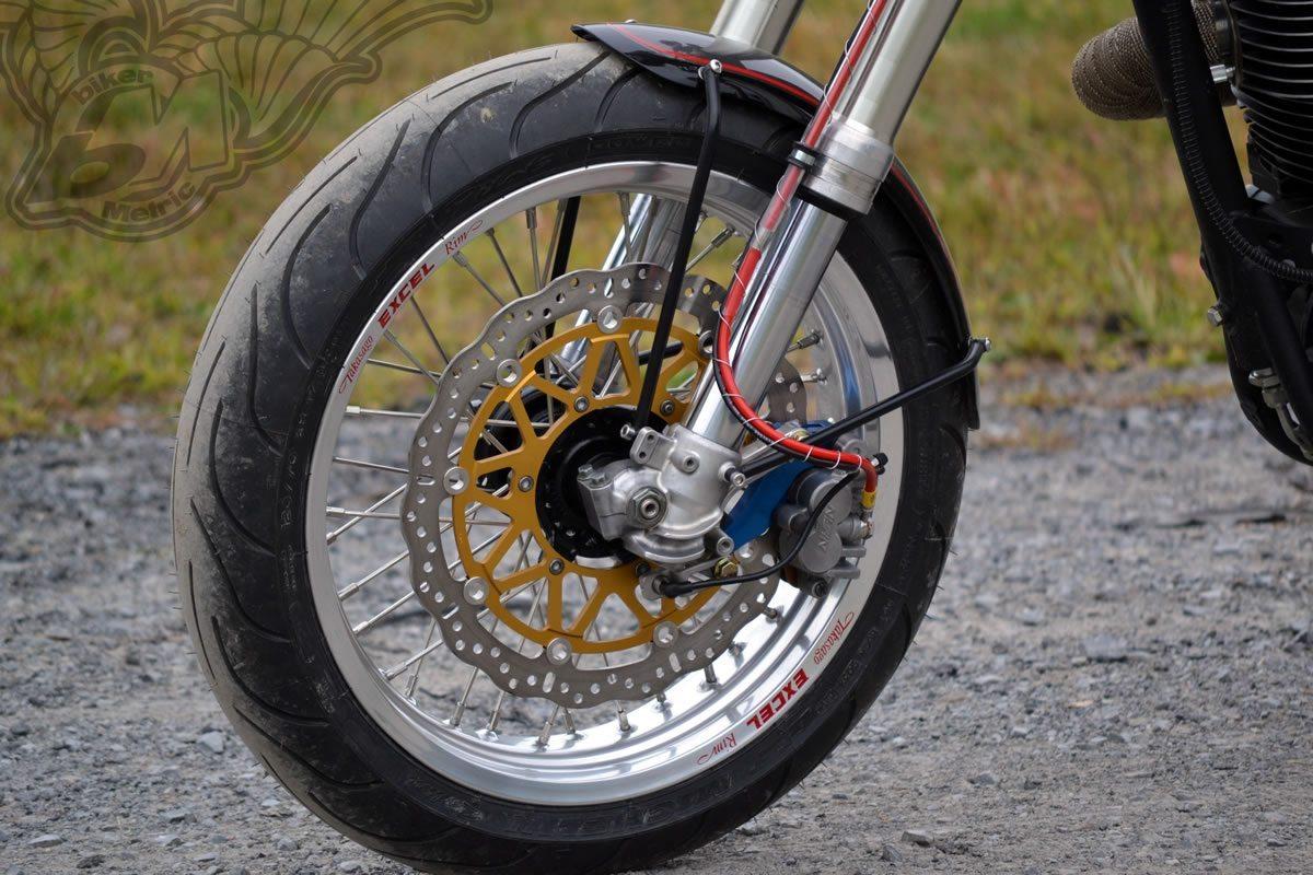 Yamaha XT Retro Supermoto Front End