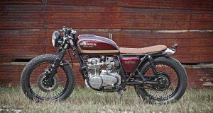 1977 Honda CB550F Crimson Brat