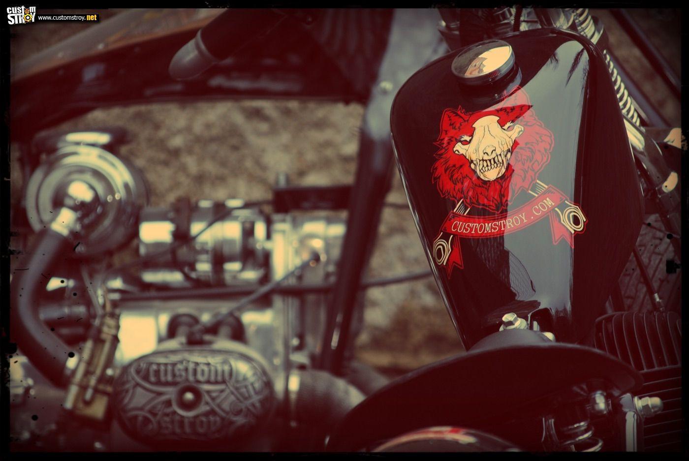 Jawa Bobber by Customstroy