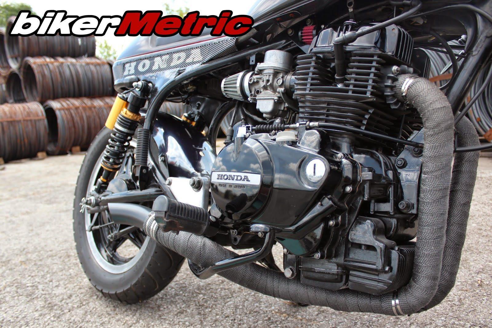 custom honda cm450e motor