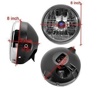 BUNDLE-2-itemsCombo-35W-7-Head-Turn-Signal-Light-Headlamp-Mount-Bracket-30mm-42mm-For-Cruiser-Chopper-Bobber-Caf-Racer-0-2