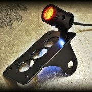 Custom Bobber and Chopper Tail Light - Black - by Tail End Choppers 2