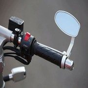 Ediors-Universal-High-Quality-CNC-Silver-Aluminum-Cafe-Bar-End-Anti-Glare-Mirrors-For-Suzuki-Honda-Yamaha-Kawasaki-KTM-Harley-Ducati-Victory-BMW-Indian-Aprilia-Bobber-Buell-Triumph-26mm-30mm-Bar-End-0