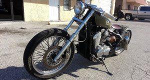 Honda VLX Chopper - cover