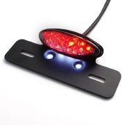 Motorcycle-Brake-Tail-Light-Lamp-Clear-Lens-Red-Light-0