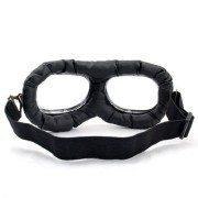 Retro-Chrome-Frame-Padded-UV-Helmet-Strap-Goggle-Sunglasses-Bike-Chopper-Caf-Racer-0-1
