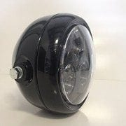 SpeedMotoCo-Black-LED-Headlight-Motorcycle-Streetfighter-Cafe-Racer-Stock-0