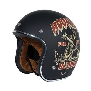 TORC-T50-Route-66-34-Helmet-with-Lucky-13-Dirty-Rat-Graphic-Flat-Black-Medium-0