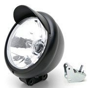 Universal-Motorcycle-Headlight-Lamp-Light-Black-Custom-Cruiser-Touring-Chopper-for-any-Harley-Honda-Yamaha-Suzuki-Kawasaki-Custom-Bike-Cruiser-Choppers-0