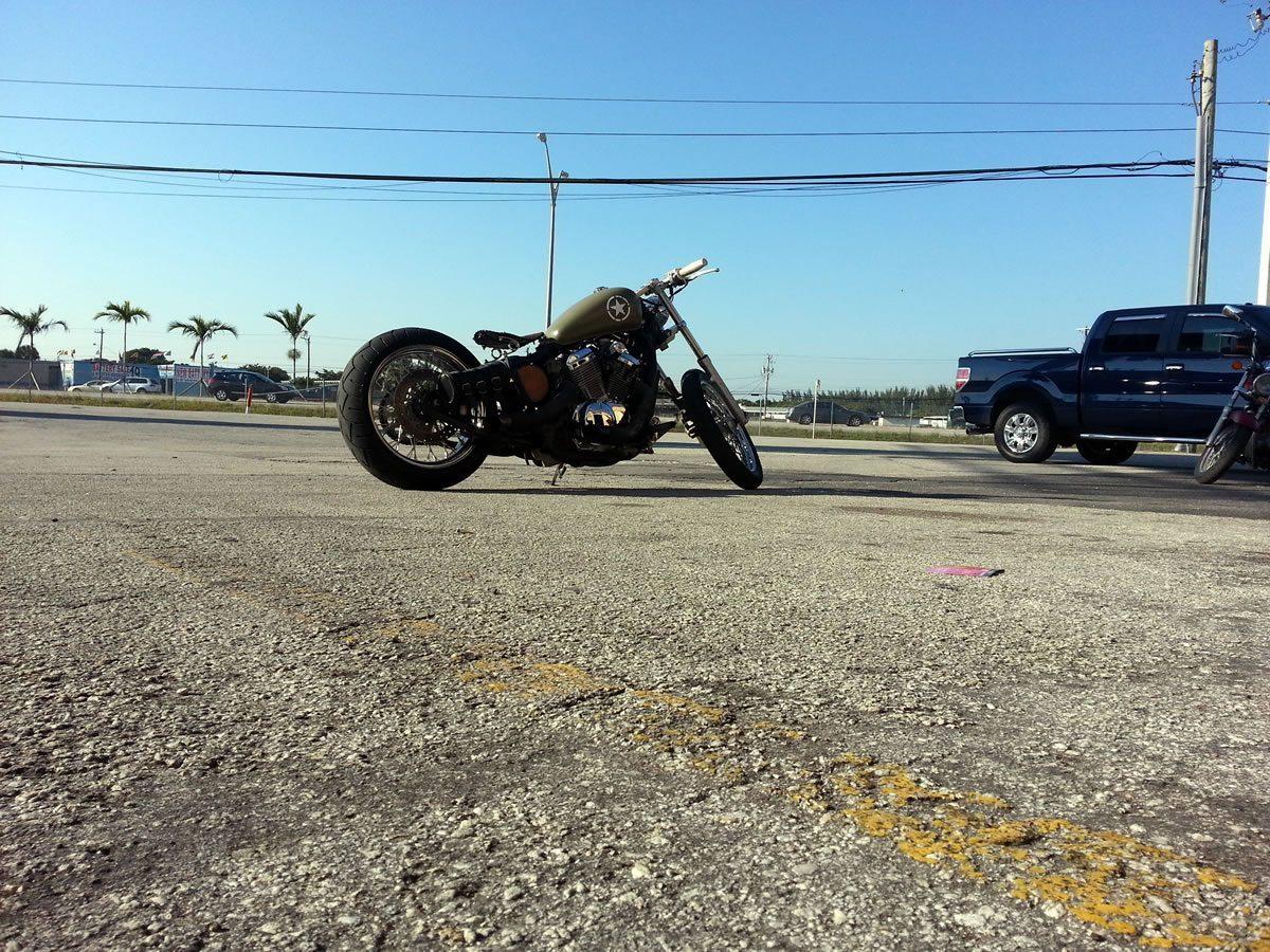 custom honda vlx bobber