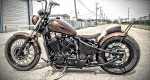 honda shadow bobber by tail end customs