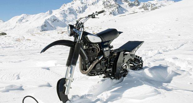husqvarna nl500 snow bike front