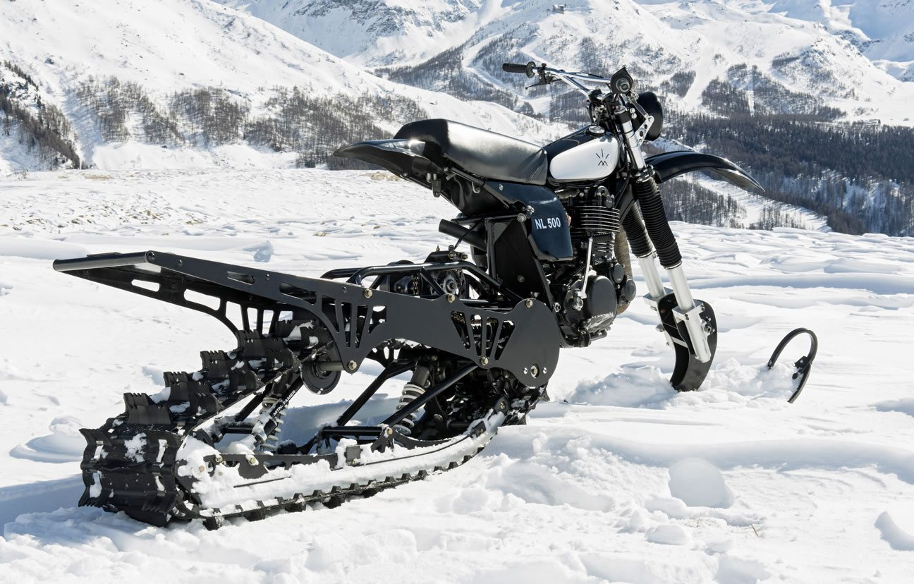 husqvarna nl500 snow bike
