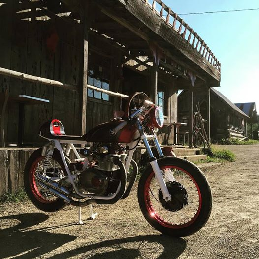 Bullit Custom Cycles at Frontier Ghost Town