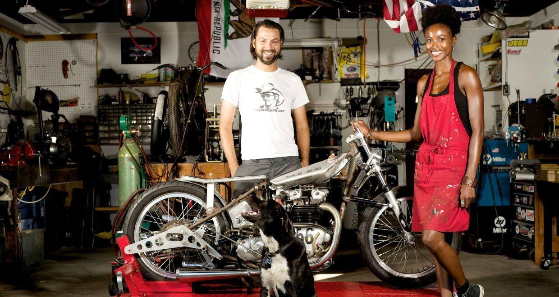 1950 triumph el mirage 650cc apf record holder