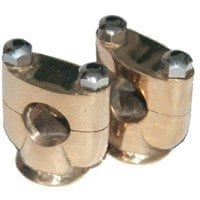 Enfield-County-Custom-Made-Brass-Made-1-Handlebar-Risers-Units-For-Many-Motorcycle-0