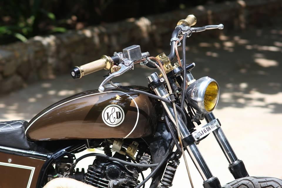 Custom Bajaj Pulsar By J D Custom Co Bikermetric