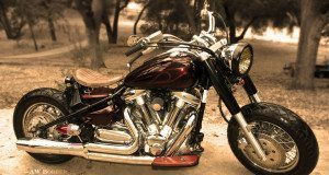 yamaha road star bobber