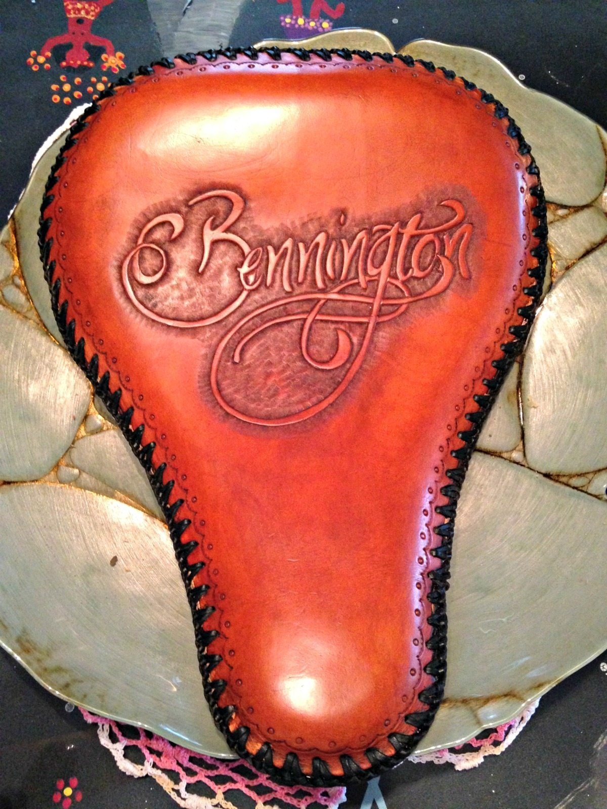 bennington custom leather seat