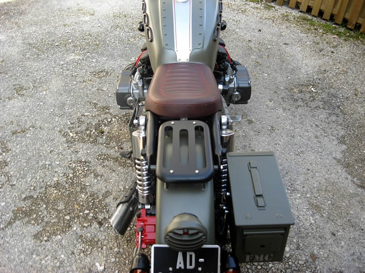 custom honda goldwing tank view