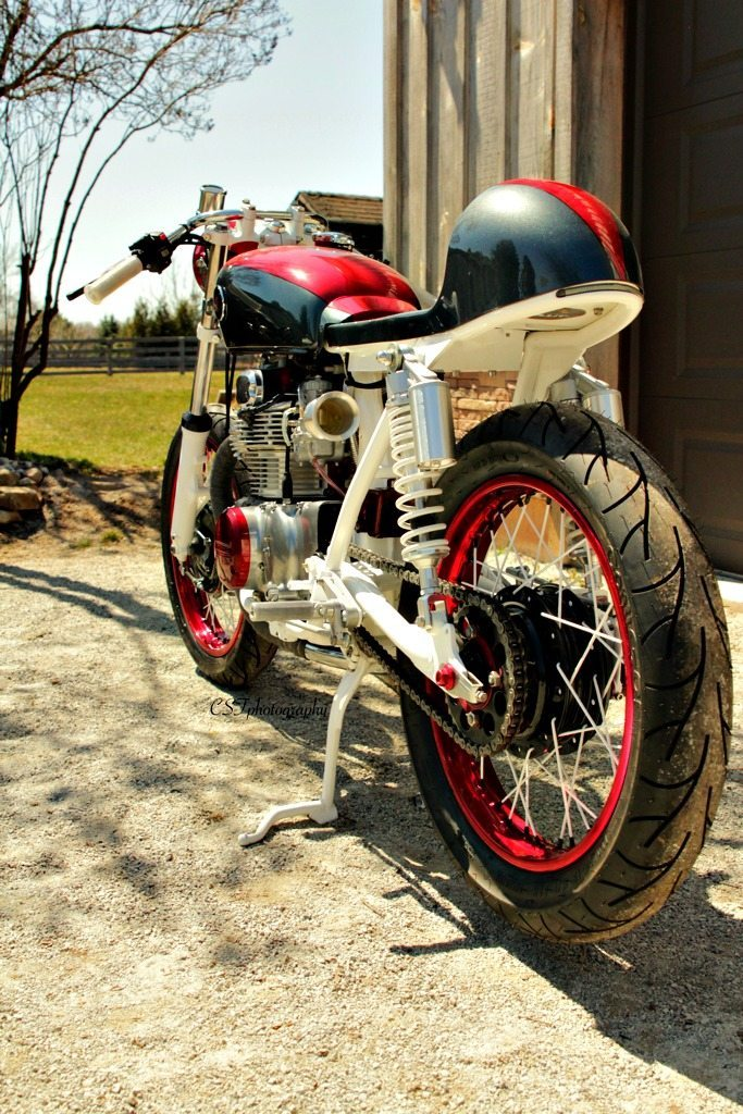 Honda Cb350 Cafe Racer By Bullit Custom Cycles Bikermetric