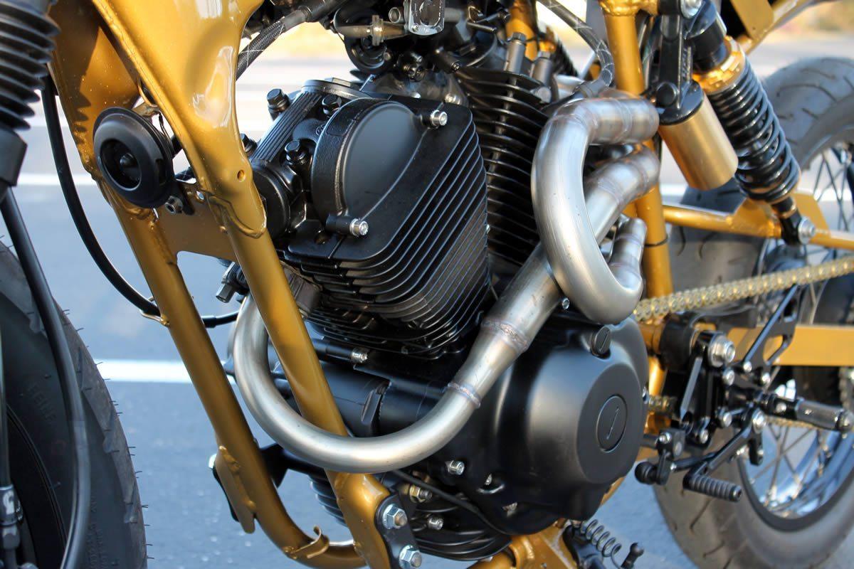 yamaha vstar 250 cafe racer motor